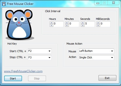 Free Mouse Clicker