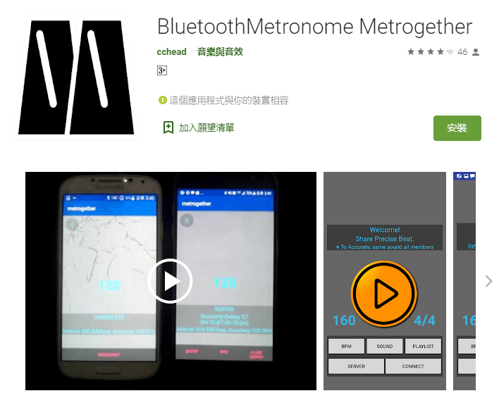 Metrogether or Bandtronome